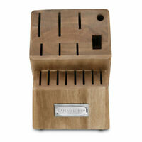 CUISINART ACADIA WOOD Kitchen Knife Block 16 Slot (Block Only) BEST PRICE (NEW)