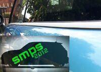 Mini Cooper S JCW GP Belt Line De-chrome Kit White gloss Window line Beltline