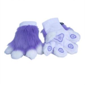 PAWSTAR Pawmitts - Lavender Furry Partial Fursuit Costume Paws Glove[LA KAW]3180