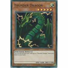 HISU-EN046 Thunder Dragon | 1st Edition Super Rare YuGiOh Trading Card Game TCG