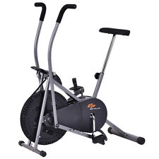 Air Resistance Exercise Fan Bike Bicycle Stationary Cardio Fitness Cross Trainer