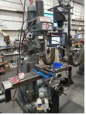 Clausing Kondia Vertical Knee Mill Proto Trak Smx 2 Axis Control Scales