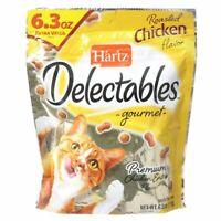 LM Hartz Delectables Gourmet Cat Treats - Roasted Chicken Flavor 6.3 oz