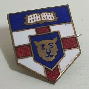 UNIVERSITY OF LONDON GOLDSMITH COLLEGE CREST PIN BADGE LAPEL BROOCH COLLECTABLE