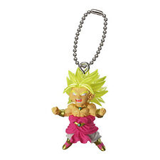 Dragon Ball Z DBZ Super Saiyan BROLY Figure Keychain Ring Gashapon Capsule