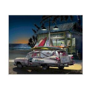 Cadillac Hearse Art Print ~ Cruiser Art Gallery