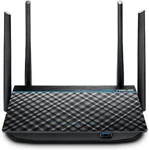 ASUS AC1300 WiFi Router (RT-ACRH13) - Dual Band Gigabit Wireless Router, 4 GB Po