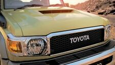 TOYOTA LANDCRUISER 70 SERIES GRILLE UPGRADE FROM AUG 16> RETRO STYLE GENUINE
