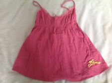 DIESEL WOMENS/GIRLS PINK STRAPPY SUMMER TOP. SIZE S APPROX 8-10. BNWT