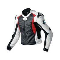 BMW Motorcycle Leather Jacket Racing Bikers Jacket Motorbike Leather Jacket CE