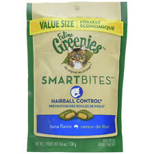 GREENIES - Smartbites Tuna Flavored Hairball Control Cat Treats - 4.6 oz. (130g)