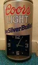 Coors light can clock