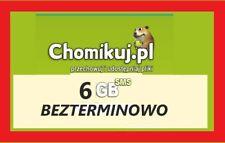 CHOMIKUJ 6GB - KOD SMS PREMIUM - BEZTERMINOWY - Natychmiastowa wysyłka*