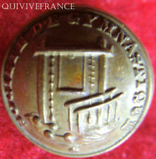 B505 - BOUTON SOCIETE DE GYMNASTIQUE  -  III° REPUBLIQUE