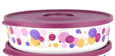 Tupperware Party Poppin' 10 Cup Illumina Canister Bubble Design Deep Purple New