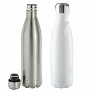 500ml Stainless Steel Coka Style Bowling Bottle Flask For Sublimation Heat Press