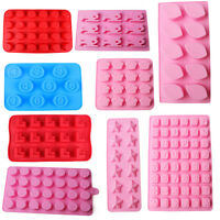 Silicone Cake Decorating Moulds Candy Cookies Ice Cube Chocolate Baking Mold