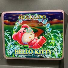 Sanrio Hello Kitty Writing Letter Paper Set in Case Hokkaido Limited Bear motif