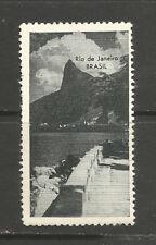 Brazil Rio de Janeiro poster stamp/label