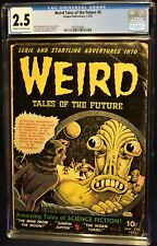 WEIRD TALES OF THE FUTURE 5 - CLASSIC COVER CGC 2.5!!