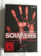 SCANNERS - TEIL 1- 3 - 3 DVD-BOX - DAVID CRONENBERG - NEU & OVP - FSK18