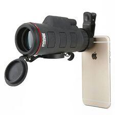 35X50 Monocular Telescope Night Vision Binoculars Wide Cell Phone Camera Mini HD