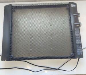 De'Longhi  HMP1500 1500W Panel Heater - Black - Lightly Used