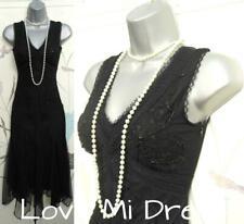 Principles - 20's Vintage Style Gatsby, Flapper, Charleston Dress 6 EU34 Petite