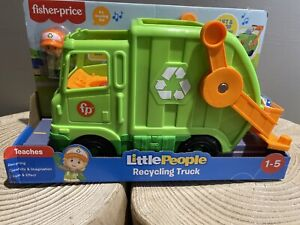 Fisher Price - Little People Recycling Truck [New Toy] Figure