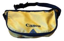 Canon Yellow Fanny Pack / Waist Camera Bag Lens Holder RARE