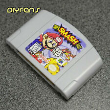 Super Smash Bros Videospielkarte EU Version für Nintendo N64 AHS