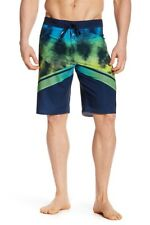 O'Neill Men's 32 Hyperfreak Imagine Blue Green Tie Dye Surf Board Shorts NWT