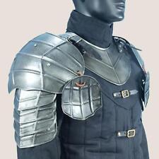 MEDIEVAL GOTHIC FANTASY Steel Shoulder Guard DARK DRAKE PAULDRON ARMOR New