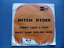 Mitch Ryder & The Detroit Wheels ‎Jenny Take A Ride / Baby Jane (Mo-Mo Jane) 7""