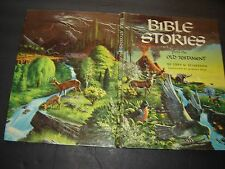 Vintage Bible Stories from the Old Testament Libby Klaperman 1963 hardcover illu