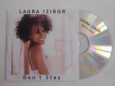 LAURA IZIBOR : DON'T STAY [ CD SINGLE ] ~ PORT GRATUIT