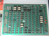 XENOPHOBE on metal plate BALLY MIDWAY  arcade game board PCB cFL