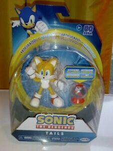 "Sonic The Hedgehog Tails w/ Fast Shoe Item Box Accessory Action Figure 4"" Jakks"