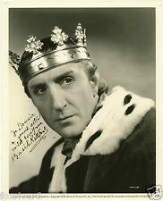 BASIL RATHBONE Signed Photograph - Film Actor 'Richard III' - Preprint