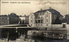 Karlskrona Blekinge Schweden Sverige 1923 Kungsbron Brücke Länsresidenset Palast