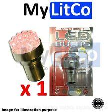 Coche trasero deja cola Freno Dual Luces Auto Bombillas Led Rojo 12v Bay15d [ 380, P21/5w ]