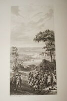 PRISE DE CHARLEROI REVOLUTION BELGIQUE 1794 GRAVURE 1838 VERSAILLES R1359