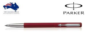 Parker Vector Standard CT Roller Ball pen ( Red Body ) New with Gift Box