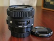Sigma 30mm f/1.4 DC HSM Art Lens for Canon EOS EF-S- Excellent!