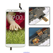 For LG Optimus G2 D802 LCD Display Touch Screen Digitizer Assembly Frame White