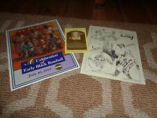 Leon Day Wife Signed Autograph Photo HOF Postcard Negro League Photo Baseball