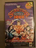 WWF WWE SURVIVOR SERIES 1993 PPV VHS VIDEO RARE THE UNDERTAKER BRET HART