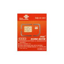 China SIM card China Unicom Prepaid Data SIM card 1GB 30days LTE 4G internet
