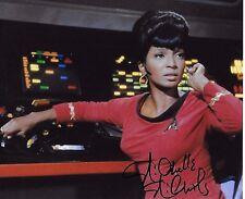 Nichelle Nichols Signiert 8x10 Foto - Star Trek - Kult - Rare H100