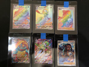 Pokemon VividVoltage Nessa Full Art SecretRare  Gardevoir , Drednaw , Lot Of 6